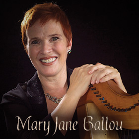 Mary Jane Ballou, Harpist, Composer, and Performer