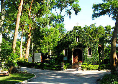 Shrine of La Leche in St. Augustine, Florida